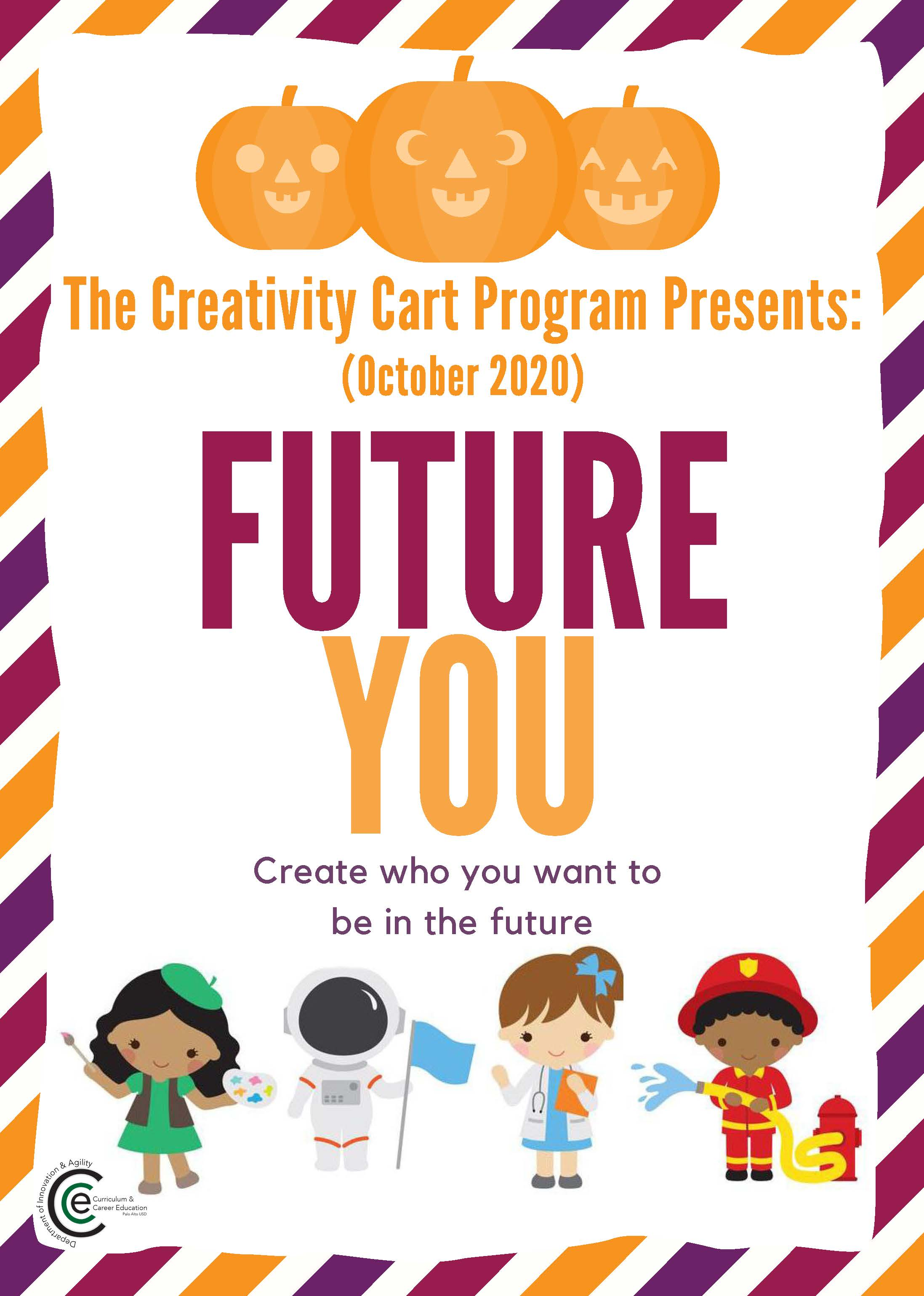 Creativity Cart 2020-21 October