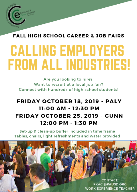 Job Fair Flyer - Employers