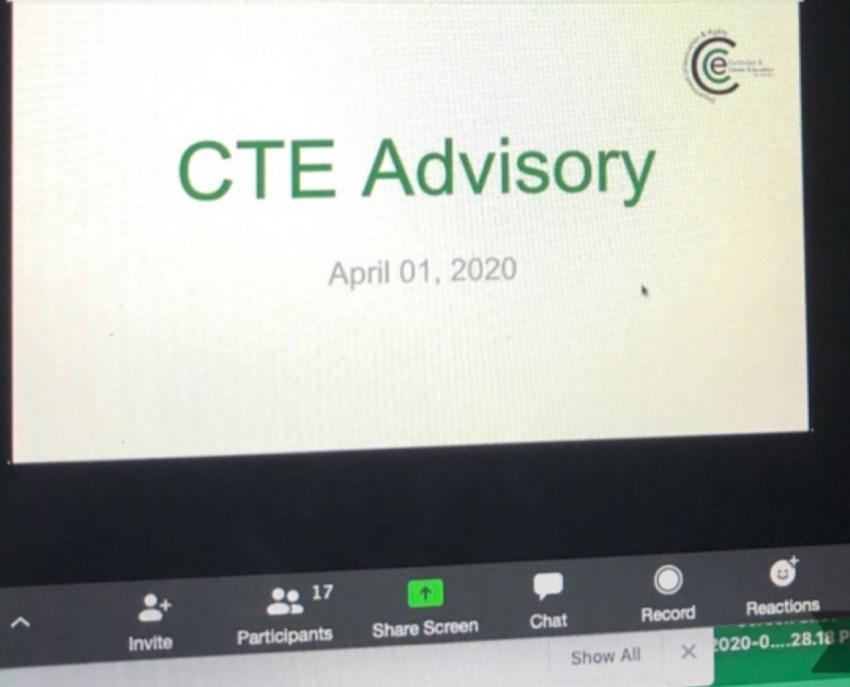 CTE Advisory Zoom
